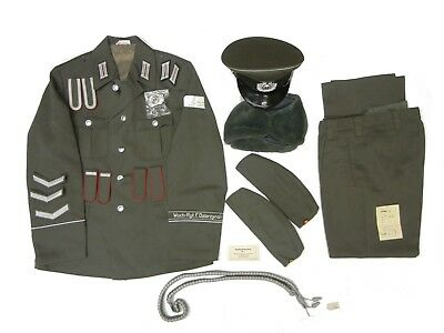 Halloween Sale (HALLOWEEN SALE Authentic East German STAZI Military Officer Uniform M48)