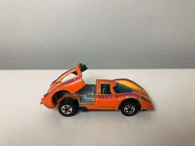 1977 Hot Wheels Porsche P-917 Flying Colors Black Wall