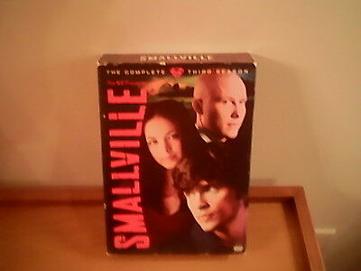 Smallville: Season 3, Warner Bros. DC Comics, 6 DVD's