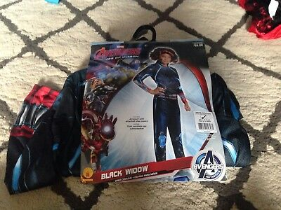 NEW Youth Girls' Halloween Costume Black Widow Avengers Age of Ultron S](Ultron Halloween Costume)