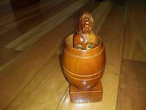 Timber Lady Souvenir Memonto Token Doll Novelty Wooden Female Allawah Kogarah Area Preview