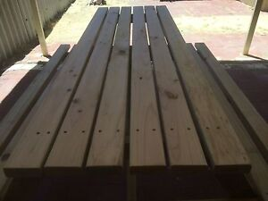 Outdoor picnic table Glendalough Stirling Area Preview