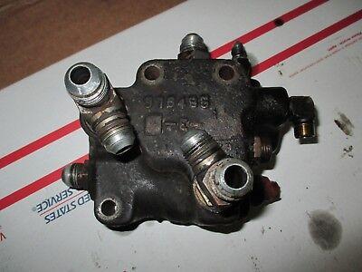 Case 2294 Tractor Brake Valve 976485 G105128