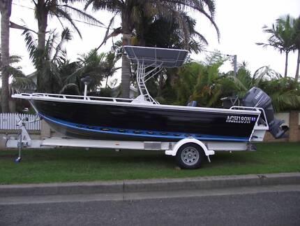 6.3m Custom Built Tellwater Quintrex Perfect Fishing Boat