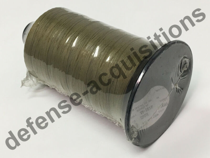 Milspec Military Sewing Thread Spool T-90 SM CRISTALL TAN VT-295E Bonded