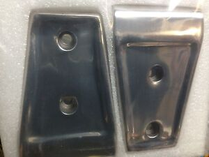 Jeep Stainless Hood Hinge Covers