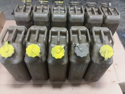 Scepter Plastic Jerry 5 Gallon 20l Fuel Can