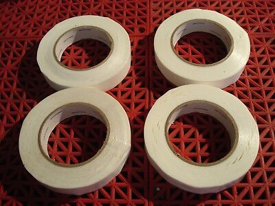 Lot Of 4 Bron Tapes 1 Double Sided Carpet Tape Cloth Multi Purpose  New