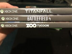 Xbox one games all 3 games for $30