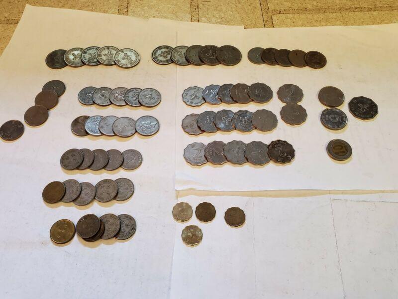 95+ Hong Kong Dollars FV in coins