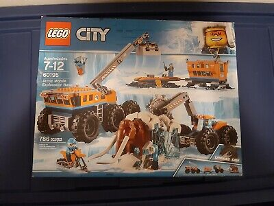 Lego City Arctic Mobile Exploration Base (60195)**DAMAGED PACKAGE**
