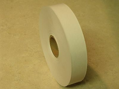 One Roll - 1 X 500 Feet Water Activated White Kraft Paper Tape