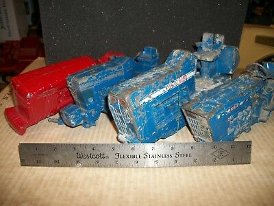 Used,  vintage ford 1:12-1:16 four tractor body's parts,repair,restore,8000,4600,7710. for sale  Devils Lake