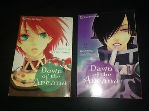 Dawn of the Arcana Manga