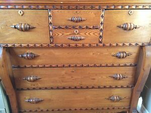 Beautiful Antique Chest of Drawers Kitchener / Waterloo Kitchener Area image 5