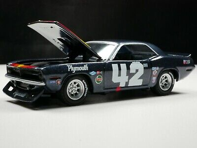 1970 Trans Am Plymouth Barracuda 1/64 Scale Rare Diecast Diorama Car Real Riders
