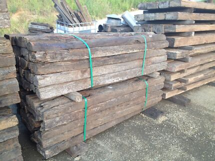C grade / 3rd grade railway sleepers delivery service available Logan Area Preview