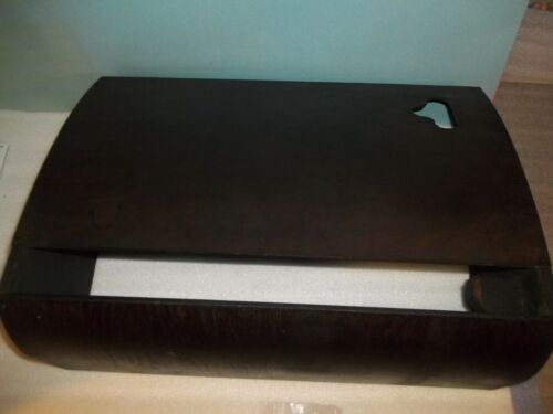 Antique Singer Treadle Sewing Machine Table Dust Cover Dark Finish