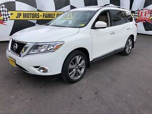 2014 Nissan Pathfinder Platinum, Navigation, Leather, Sunroof, 4