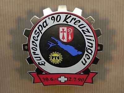 Vespa Badge EuroVespa 1990