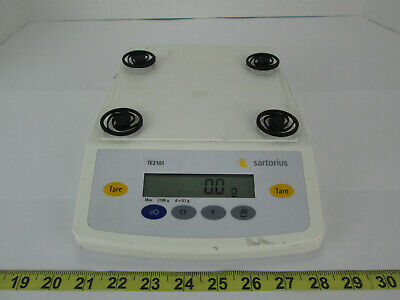 Sartorius Digital Scale Te2101 Max 2100 G D0.1g Science Lab Equipment School