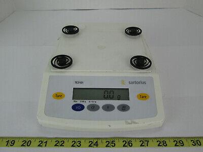 Sartorius Digital Scale Te2101 Max 2100 G D0.1g Science Lab Equipment School