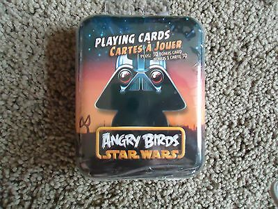 Star Wars Angry Birds Playing Cards Darth Vader Sealed Tin