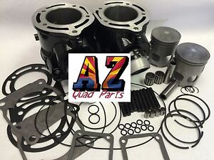 Banshee 350 Stock Bore 64m Cylinders Pistons Cool Head Top End Rebuild Kit Oring