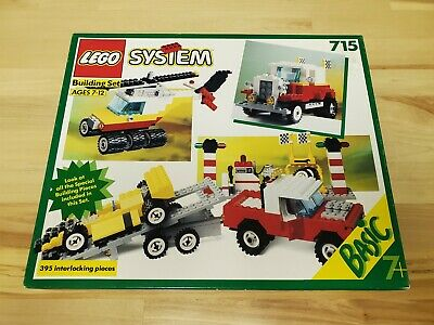 Lego 715 Vintage 1990 Classic Town Basic Building Set NEW Unopened Box Sealed