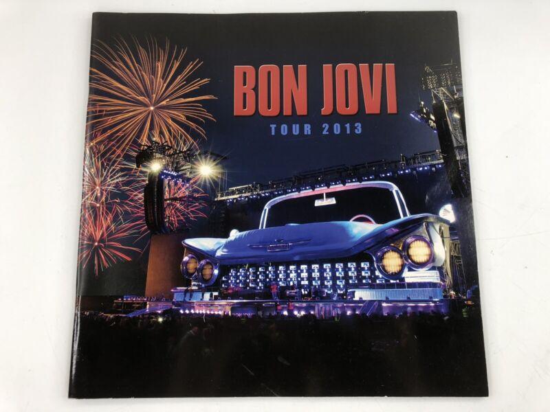Bon Jovi 2013 Concert Tour Program Book Because We Can