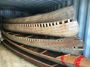 Antique Cedar Strip Canoes