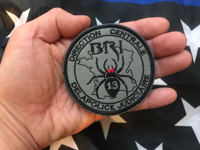 BRI Bridgade Research Investigation De La French National Anti-Gang Unit Patch