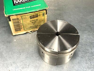"Hardinge S-20   1-3//16/"" ROUND   Collet Pad SET SERRATED"