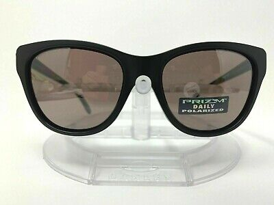 Oakley Hold Out POLARIZED Sunglasses OO9357-0555 Matte Black W/ PRIZM DAILY (Blacked Out Sunglasses Men)