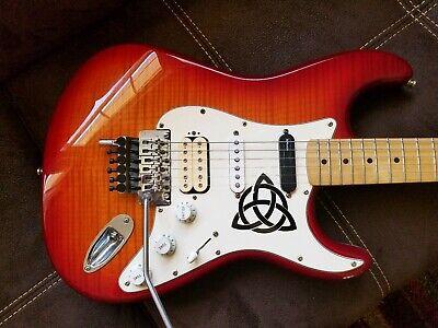 Fender Stratocaster Floyd Rose Plus Top / massive upgrades