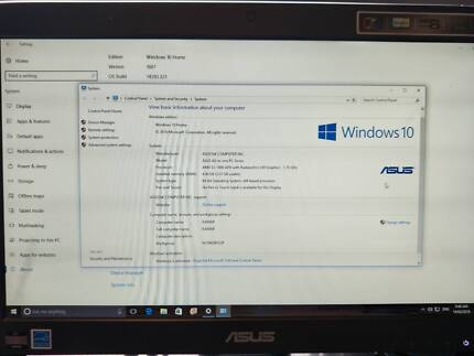 Asus All in One PC as new
