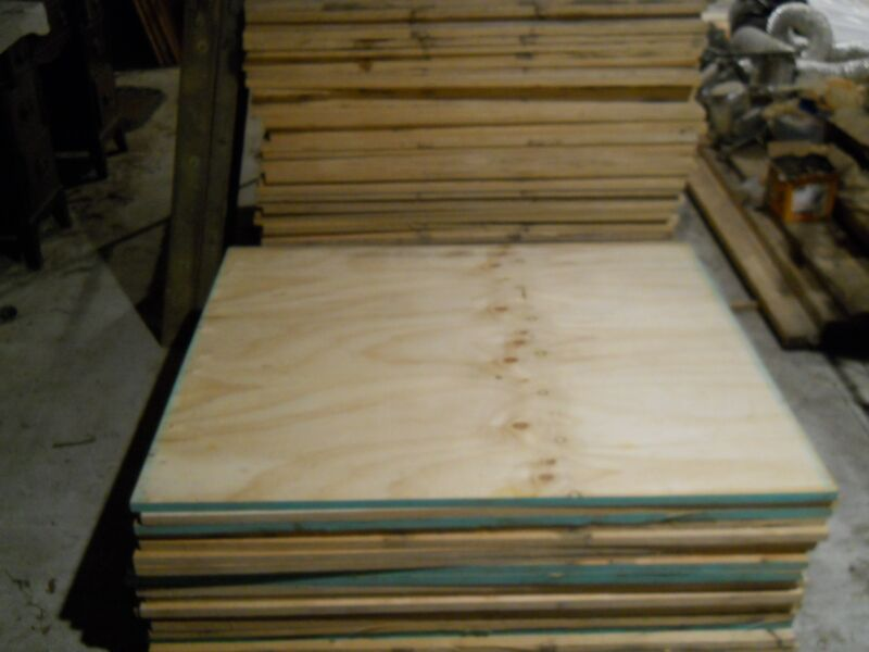 """PLYWOOD,BIRCH,10 SHEETS,7/8""""(22 mm)11 PLY FINISHED,SIZE:44 3/4"""" X 37 1/4"""" X 7/8"""""""