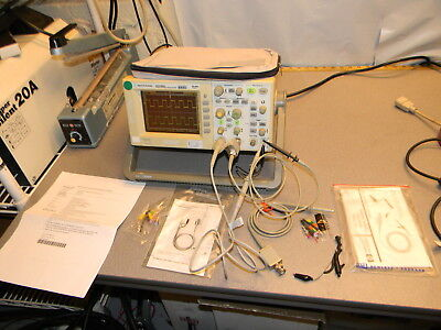 Agilent Dso3062 2 Channel 60 Mhz Oscilloscope W N2862a And 10431a Probes