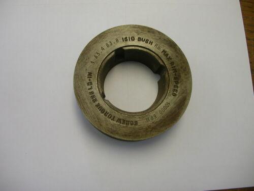 "DODGE 118301 TAPER LOCK SHEAVE  V BELT PULLEY SINGLE GROOVE 4.15"" OD 1A3.4B3.8"