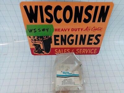 Wisconsin Engine New Old Stock Governor Carb Adjustment Rod Ve874s1 Free Sh