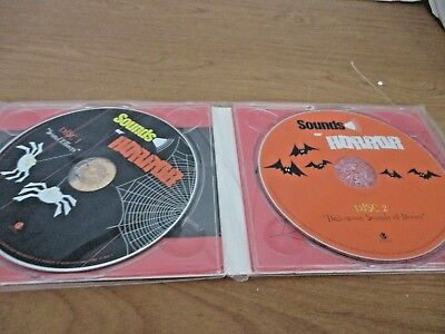 Halloween-sounds, Horror Musik (2 CD's~SOUNDS OF HORROR~Sound Effects~Halloween Sounds of Horror~New and Sealed)