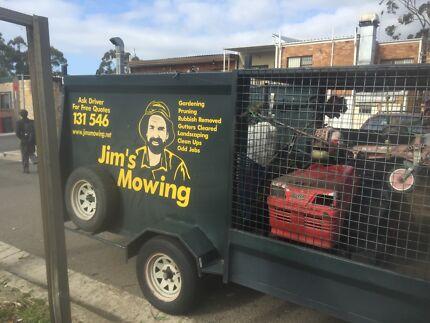Jims mowing Engadine