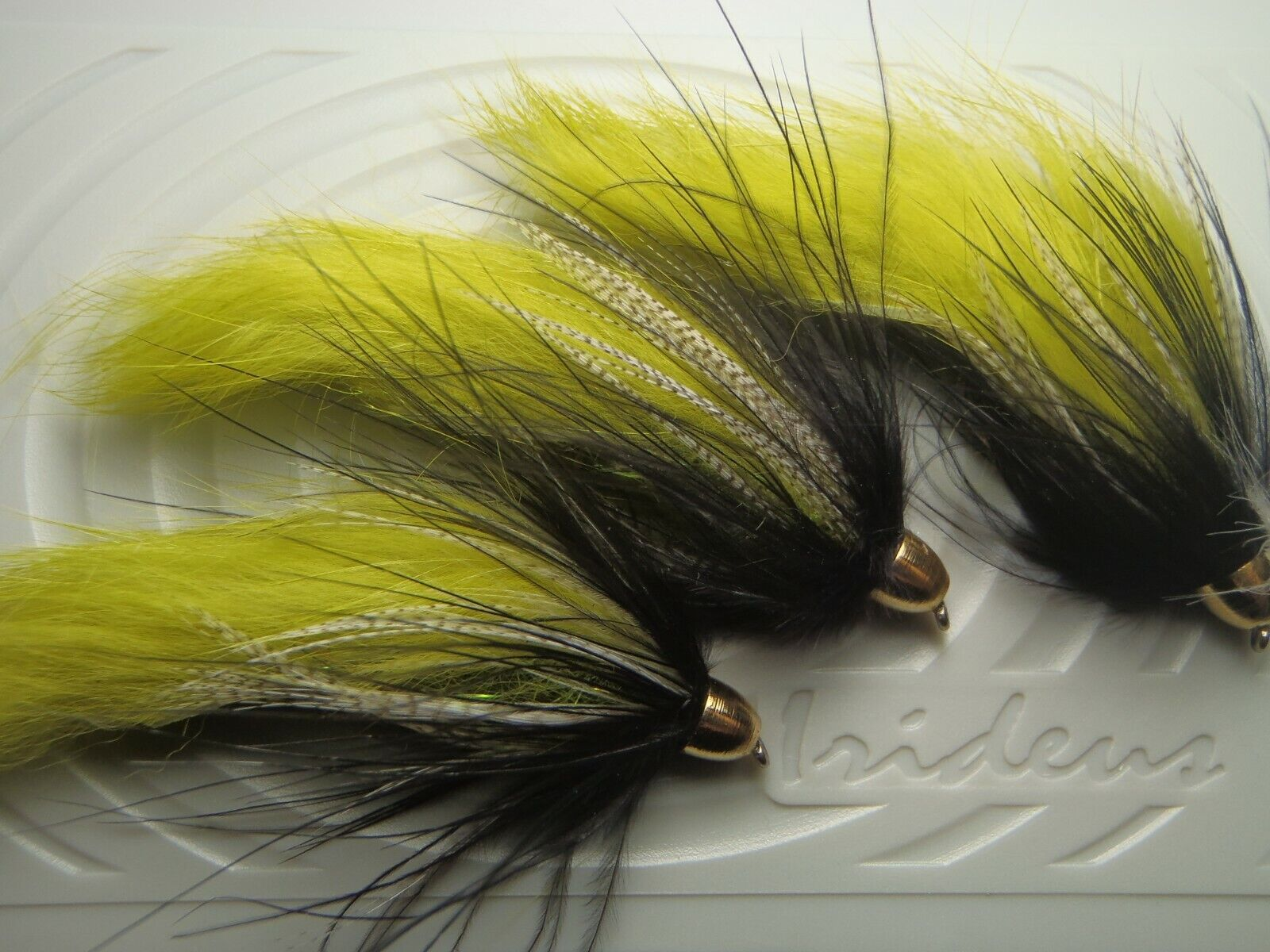 Irideus D Lite Soft Hackle Wooly Bugger Streamer Flies Trout Fly Fishing - $9.99