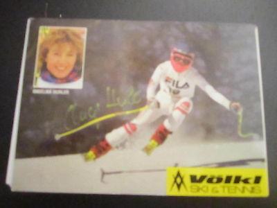 17177 Angelika Hurler Ski Alpin Wintersport original signierte Autogrammkarte