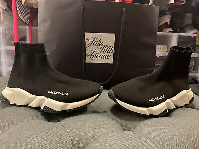 Balenciaga Speed Trainer Runner black Shoes men's Size 6 ****Serious Buyers Only