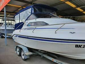 2003 Whitley Voyager 580 half cabin cruiser - 130hp Yamaha Outboard Findon Charles Sturt Area Preview