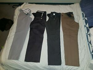 Designer Pants Versace, AG Arthur Galen,Calibre