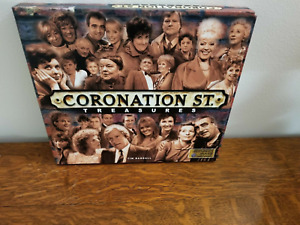 Coronation Street Treasures Book & Case by Tim Randall