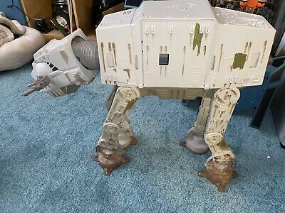 Star Wars AT-AT Walker POTF 1997 ROTJ Hasbro Incomplete Good Condition