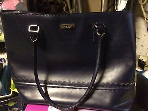 REDUCED***Authentic Kate spade navy blue purse